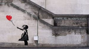 Banksy Girl and Balloon